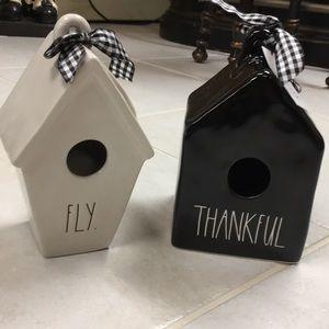 Rae Dunn NWT bird houses